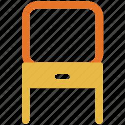 dresser, dressing table, furniture, mirror icon