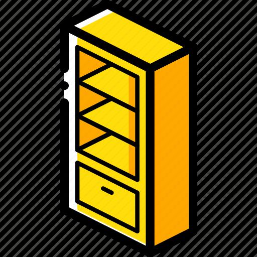 bedroom, furniture, household, iso, shelves icon