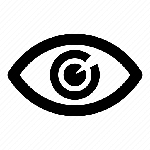 eye, search, view, watch, zoom icon