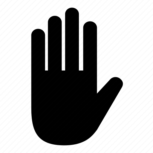 business, hand, human, male, palm, touch icon