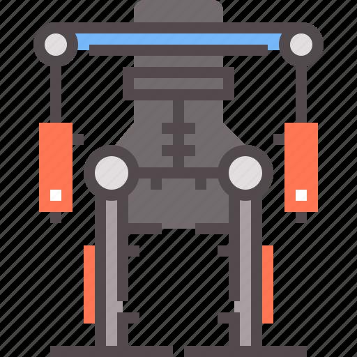 Exoskeleton, military, powered, robotic icon - Download on Iconfinder