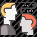 brain, communication, education, energy, future, mind icon
