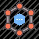 carbon, future, material, nano, nanomaterial icon