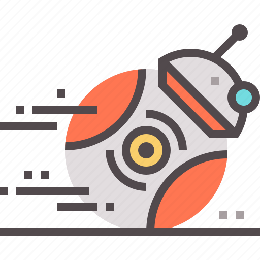 ai, android, assistant, droid, future, personal, robotics icon