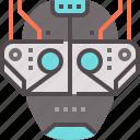 dystopian, machine, future, virtual, augmentation, reality, cyberpunk