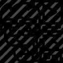 hololens, visual, reality, multimedia, technician icon