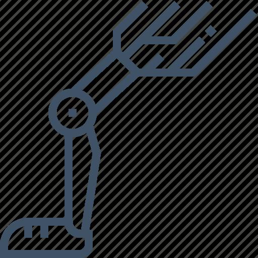 artificial, leg, prosthesis, robot icon