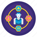 ambient, avatar, experience, user icon