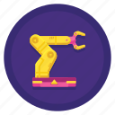 arm, automated, hand, robotic icon
