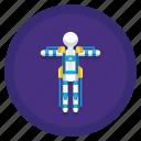 avatar, exoskeleton, human, user icon