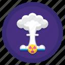 danger, explosion, nuclear, warning