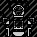 engineer, robot, technology icon