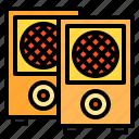 audio, music, play, sound, speaker
