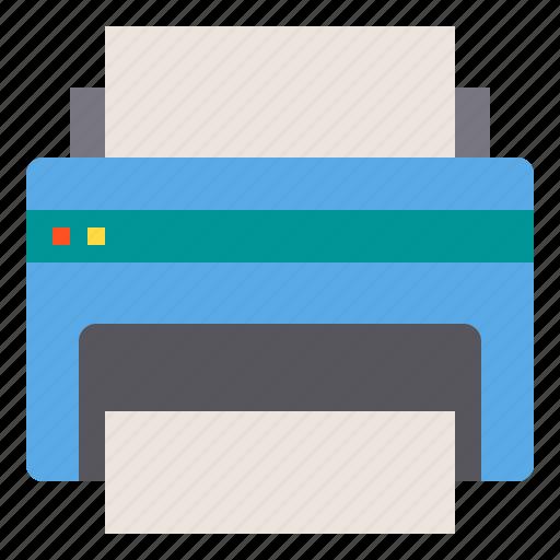 Computer, hardware, print, printer, technology icon - Download on Iconfinder