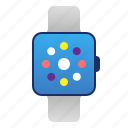 android, electronics, gadget, ios, smart, smartwatch, technology, watch icon