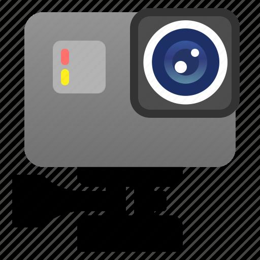camera, electronic, gadget, gopro, photo, self, technology icon