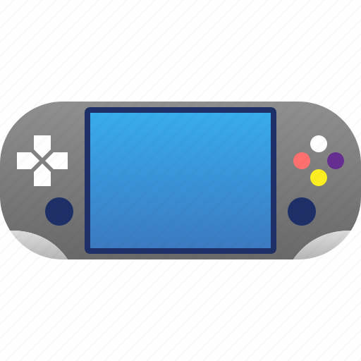 console, gadget, game, gaming, play, ps4, psvita icon