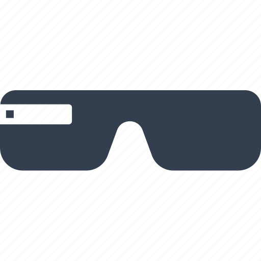 device, eye, gadget, glasses, media, smart, technology, view icon