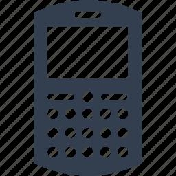 blackberry, device, gadget, multimedia, phone, smart, telephone icon