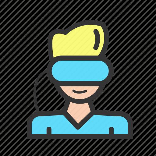 Gadget, gadgets, geek, reality, technology, virtual, vr icon