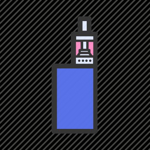 cigarette, electronic, gadget, gadgets, geek, vape, vaper icon