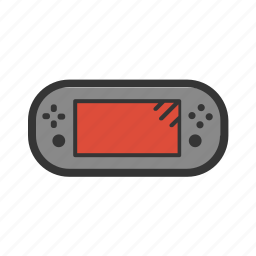 gadgets, game, gamer, geek, play, portable console icon