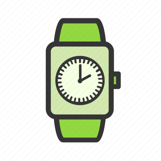 alarm, gadgets, geek, smart watch, technology, time icon