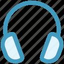 earphone, headphone, headset, listen, music, telemarketer icon