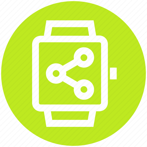 Connection, gadget, network, smart watch, watch icon - Download on Iconfinder