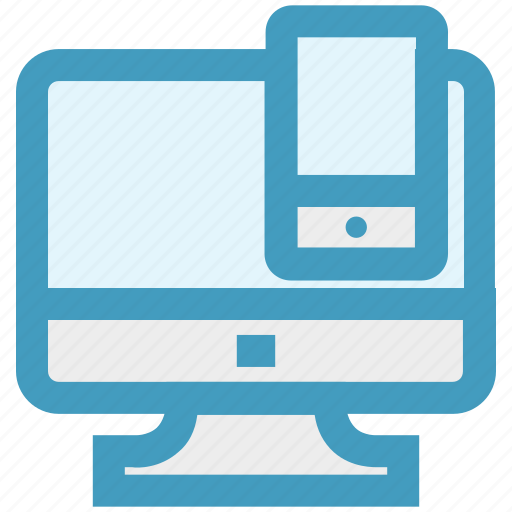 cell, display, lcd, mobile, screen, technology icon