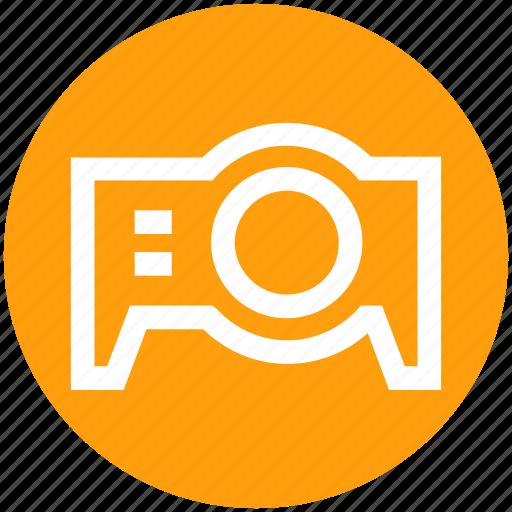 device, film, gadget, movie, projector icon