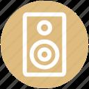 loudspeaker, sound, sound speaker, sound system, speaker, woofer