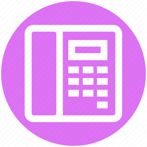 call, connection, landline, office, phone, telephone icon