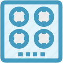 appliance, cook, electro, gas, kitchen, stove icon