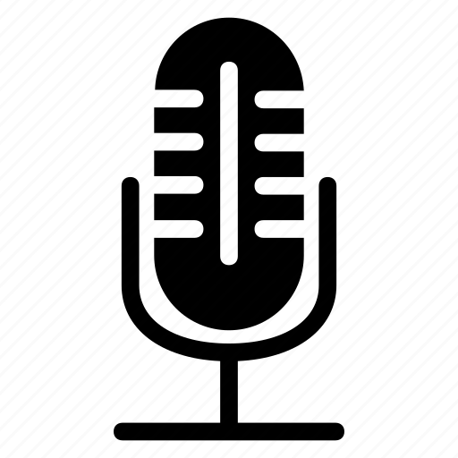 microphone, mike, recorder, speaker icon
