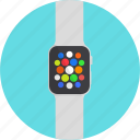 apple, gadget, smart watch, watch, wearable icon