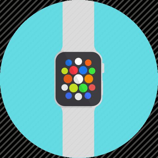 apple, gadget, smart watch, watch, wearable icon