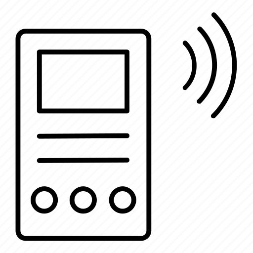 communication, device, gadget, wireless icon