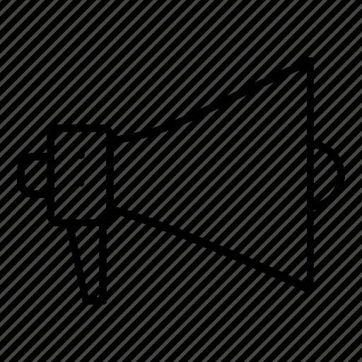 advertise, horn, megaphone, speaker icon