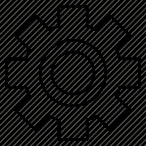 configuration, gear, maintenance, setting icon