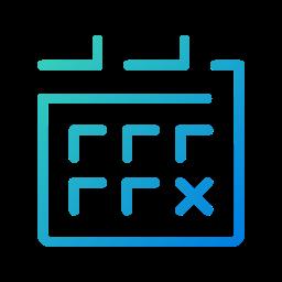 agenda, app, calendar, events, galaxy, meeting, schedule icon