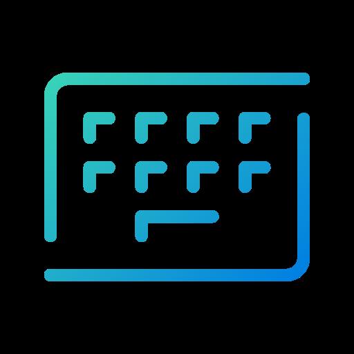 app, galaxy, keyboard, keys, open line, settings, type icon
