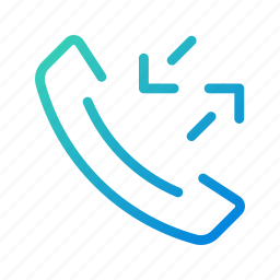 call, calls, incoming, outgoing, phone, receiving, ui icon
