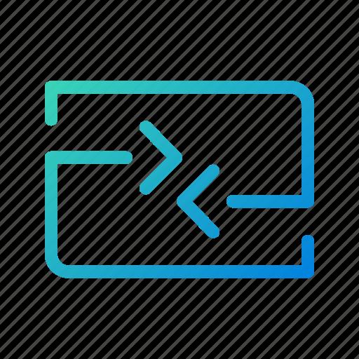 app, data, exchange, internet, mobile, transfer, ui icon