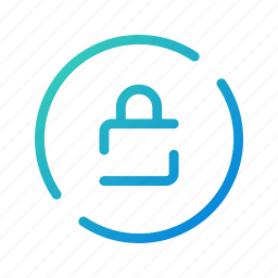encryption, locked, mobile, phone, protection, security, ui icon