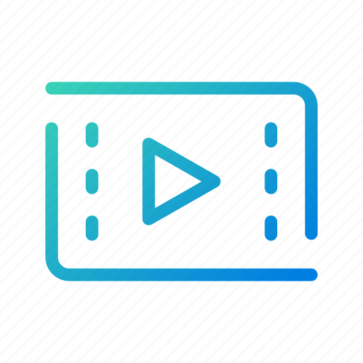 app, editor, film, mobile, play, player, video icon
