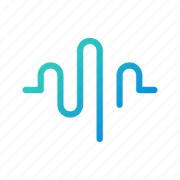 app, frequency, recorder, sound, ui, voice, waves icon
