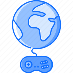 fun, game, online, party, planet, video icon