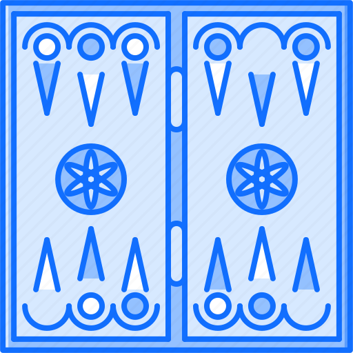 backgammon, board, fun, game, party icon