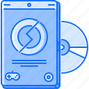 disk, dvd, fun, game, party, video icon